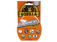 Gorilla Glue Gorilla Tape Clear Repair 48mm x 8.2m| Duotool