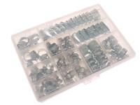 Jubilee© Workshop Pack 143 Assorted Hose Clips (Mild Steel)