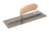 Marshalltown MXS1 Plasterers Finishing Trowel Wooden Handle 11in x 4.1/2in from Duotool.