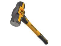 Roughneck Sledge Hammer 16in Fibreglass Handle 1.8kg (4lb)| Duotool