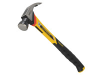 Stanley Tools FatMax Vibration Dampening Curved Claw Nailing Hammer 400g (14oz)