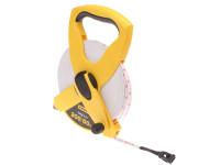 Stanley Tools Open Reel Fiberglass Tape 60m / 200ft (Width 13mm)| Duotool