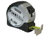 Stanley Tools FatMax Tape Measure 8m/26ft (Width 32mm)