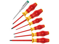 Wera Kraftform Comfort VDE Screwdriver Set of 7 SL / PH| Duotool