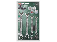 Wera Joker Combi Ratchet Spanner Set of 4 Metric from Duotool.
