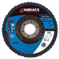 Abracs Flap Disc 115Mm X 80G 5 Pack