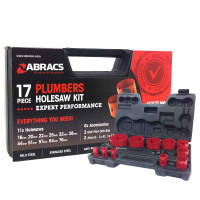 17Pc Abracs Hole Saw Kit