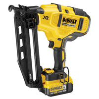 Dewalt DCN660P2 18V XR Cordless li-ion Brushless 2nd Fix Nailer 16Ga 2 X 5.0Ah Batteries from Duotool
