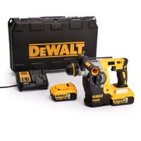 Dewalt DCH273P2 18V XR li-ion SDS+ Rotary Hammer Drill 2 x 5.0Ah batteries from Duotool