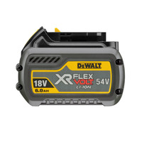 DeWalt DCB546-XJ 18v/54v XR FLEXVOLT 6.0Ah Li-ion Battery Pack from Duotool