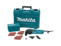 Makita TM3000CX4 110v Multi-Tool c/w 37 Acc from Duotool