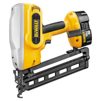 Dewalt DC618KB 18V Heavy Duty Cordless Nail Gun Kit from Duotool