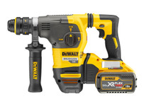 ewalt DCH334X2 54V Brushless XR FLEXVOLT SDS Rotary Hammer 3-Mode in TSTAK Box (2 x 9Ah Batteries) with Quick Change Chuck | Duotool