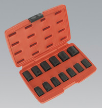 """Sealey Impact Socket Set 13pc 1/2""""Sq Drive Metric from Toolden"""