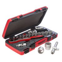 "Teng  T1221 21 Piece 6 Point 1/2 "" Socket Set from Toolden."