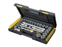 Stanley Tools Microtough Socket Set of 29 Metric 1/2in Drive
