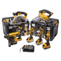 DeWalt DCK699M3T XR 6 Piece Kit 18v 3 x 4.0Ah Li-Ion from Duotool