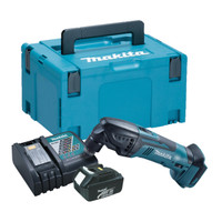 Makita DTM50 Multi Tool 1x 3.0Ah Battery, Charger & Makpac Case