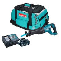 Makita DJR186 Reciprocating Saw 1 x 5 Amp Battery, Charger And Bag   Duotool