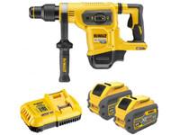 Dewalt DCH481X2 54V 9.0Ah FlexVolt SDS Max Hammer Drill