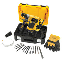 Dewalt D25414KT 240V 32mm SDS Drill & Accessories from Duotool.