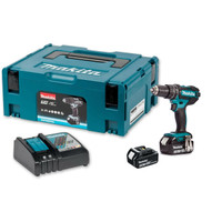 MAKITA DHP482RFWJ 18V LXT Combi Drill + 2 3Ah Battery from Duotool.