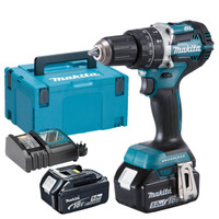 Makita DHP484RTJ Brushless Combi Drill + 2x 5.0ah Batteries