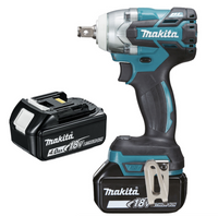 Makita DTW285RMJ 18v Impact Wrench 2 x 4.0Ah Batteries