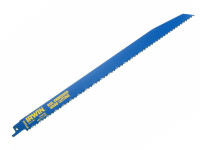IRWIN Sabre Saw Blade 156R 300mm Nail Embeded Wood Cut Pack of 5
