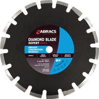 350mm x 10mm x 25.4mm Abrasive Construction Materials Diamond Blade EXPERT