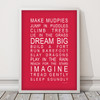 Dreams for your boy print