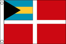 Bahamas Boat Flag