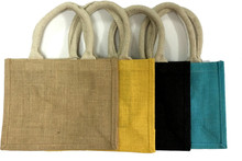 Solid Colour Burlap Bags