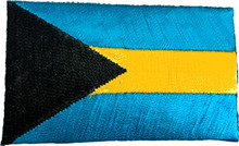 Small Bahamas Flag Patch