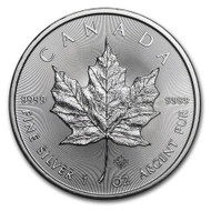 2014 Canadian Maple Leaf 1 oz Silver Coin
