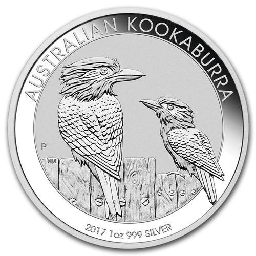 2017 Australian Kookaburra 1 oz Silver Coin