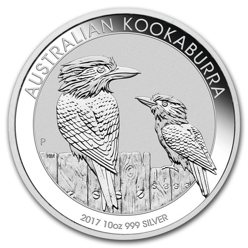 2017 Australian Kookaburra 10 oz Silver Coin