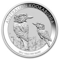 2017 Australian Kookaburra 1 kilo Silver Coin