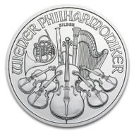 2014 Austrian Philharmonic 1 oz Silver Coin