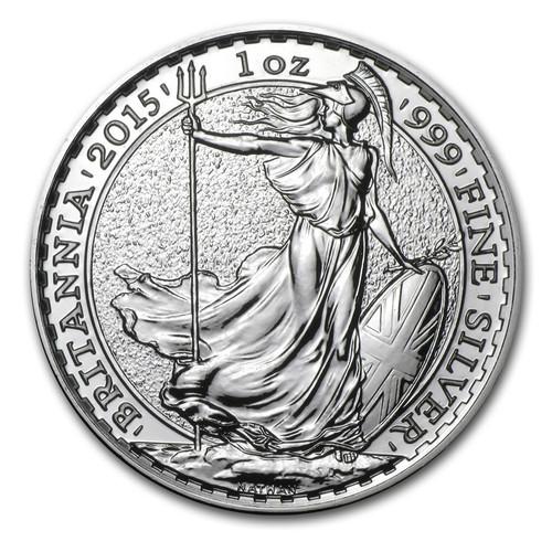 2015 Great Britain Britannia 1 oz Silver Coin