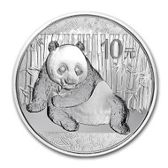 2015 China Panda 1 oz Silver Coin