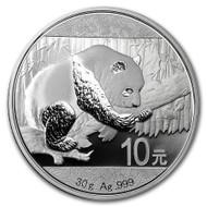 2016 China Panda 30 gram Silver Coin