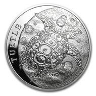 2015 Hawksbill Turtle 1 oz Silver Coin
