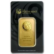 Australian Kangaroo 100 gram Gold Bar (In Assay)