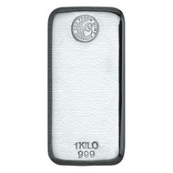 Perth Mint 1 kilo Silver Bar