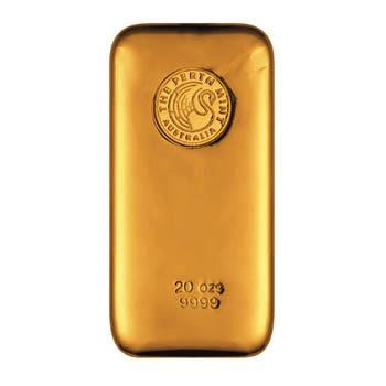 Perth Mint 20 oz Gold Bar