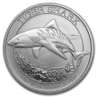 2016 Australian Tiger Shark 1/2 oz Silver Coin