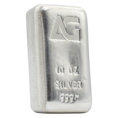 As Good As Gold 10 oz Silver Bar