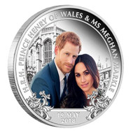 2018 Royal Wedding Proof 1 oz Silver Coin