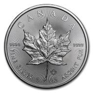 2018 Canadian Maple Leaf 1 oz Silver Coin